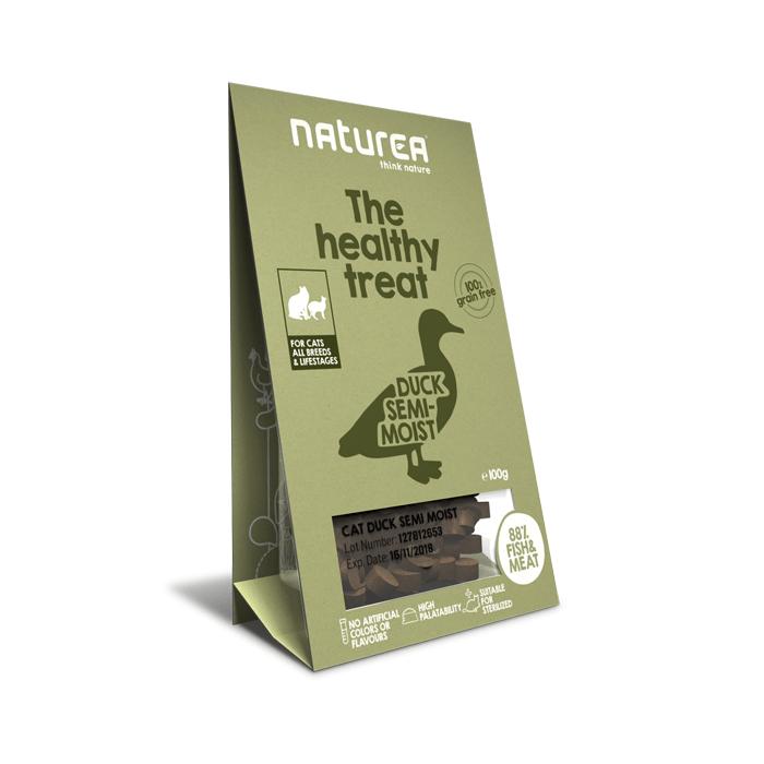 Przysmaki dla kota - Naturea Healthy Treat bezzbożowy kaczka 100g