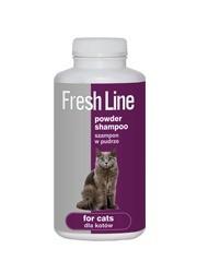 Higiena, pielęgnacja sierści - Dermapharm Fresh Line szampon w pudrze dla kota 250ml