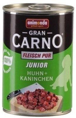 Karmy mokre dla psa - Animonda GranCarno Junior kurczak królik 800g