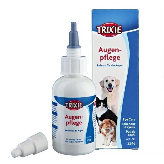 Higiena, pielęgnacja oczu, uszu, zębów - Trixie Preparat do przemywania oczu 50 ml