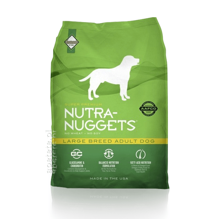 Karmy suche dla psa - Nutra Nuggets Adult Large