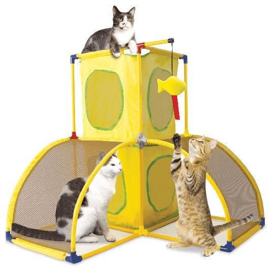 Drapaki, tunele dla kota - SportPet Pałac kocich zabaw