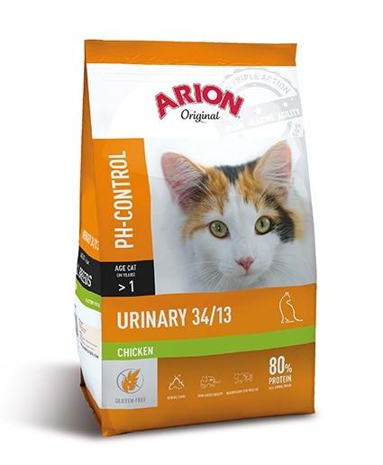 Karmy suche dla kota - Arion Original Cat Urinary Chicken