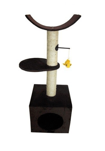 Drapaki, tunele dla kota - Yarro Drapak Rosy - brąz 91cm