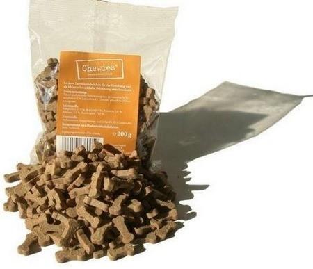 Przysmaki dla psa - Chewies Kosteczki dla małych psów jagnięcina 125g