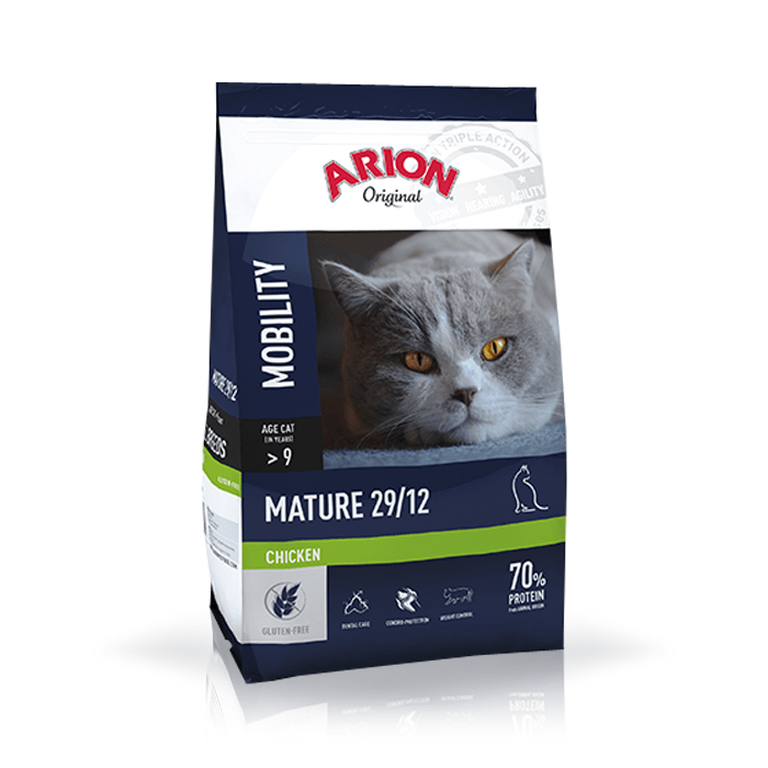 Karmy suche dla kota - Arion Original Cat Mature Chicken