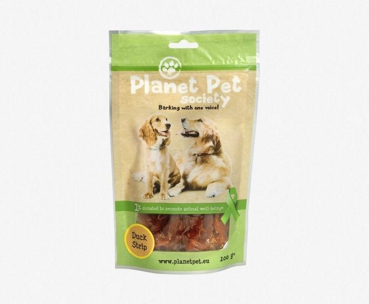 Przysmaki dla psa - Planet Pet Przysmak naturalny filet z kaczki 100g