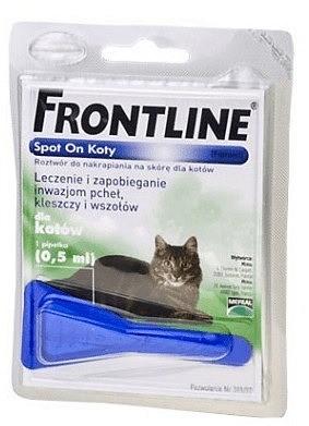 Preparaty lecznicze - Frontline Spot-On dla kota