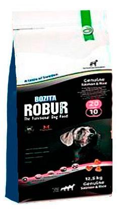 Karmy suche dla psa - Bozita Robur Genuine Salmon & Rice 12,5kg