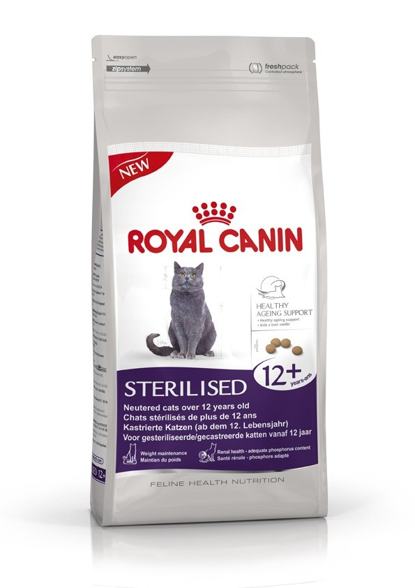 Karmy suche dla kota - Royal Canin Senior Ageing Sterilised 12+