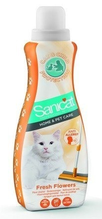 Kuwety, łopatki dla kota - Sanicat Clear Oxygen higienizujący płyn do podłogi 1l