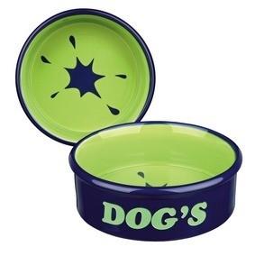 Miski i akcesoria do misek - Trixie Ceramic Bowl Miska ceramiczna dla psa 1l/20cm