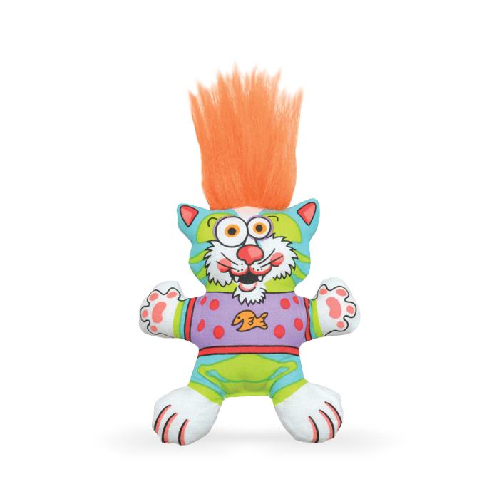 Zabawki - Petstages Pluszowy kot z kocimiętką