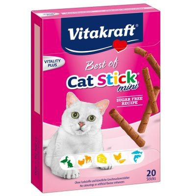 Przysmaki dla kota - Vitakraft Cat Stick Mini mix 20szt.