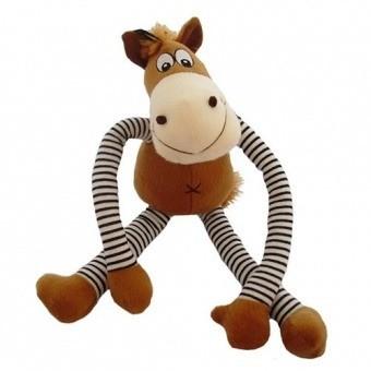 Zabawki - HappyPet Konik z wyciąganymi nogami  44cm