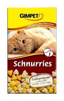 Przysmaki dla kota - Gimpet Schnurries kura 40g
