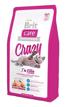 Karmy suche dla kota - Brit Care Cat Crazy I'm Kitten