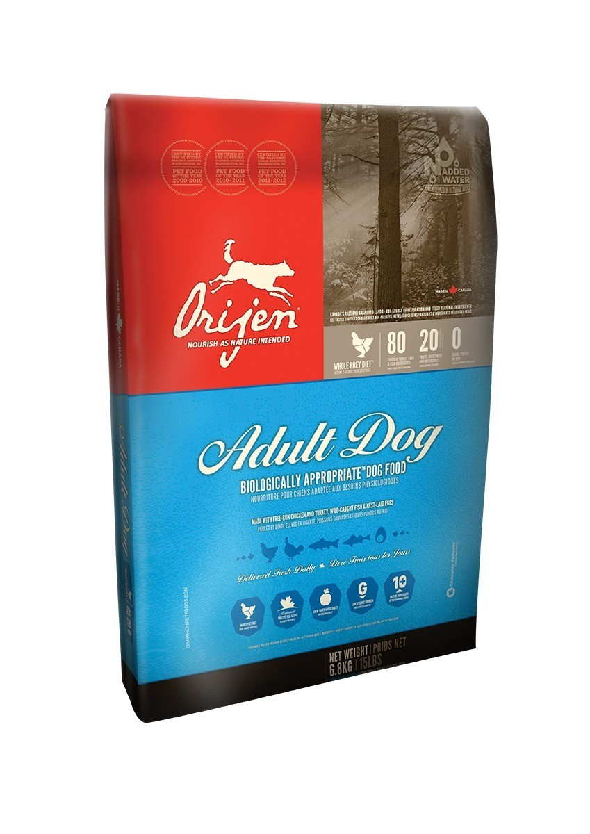Karmy suche dla psa - Orijen Adult Dog