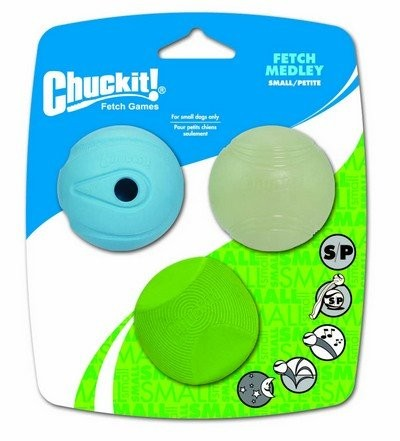Zabawki - Chuckit! Fetch Medley Small 3pak