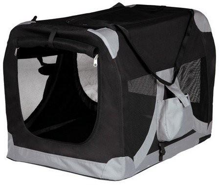 Transportery, sprzęt podróżny - Trixie Torba Nylon 2 do transportu dla psa M 50x50x70cm