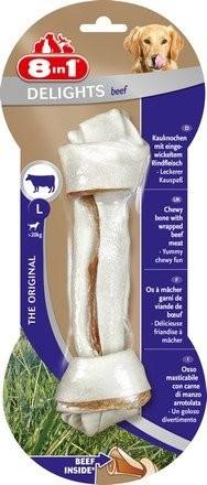 8in1 Beef Delights kość wiązana L