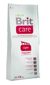Karmy suche dla psa - Brit Care Light 3kg