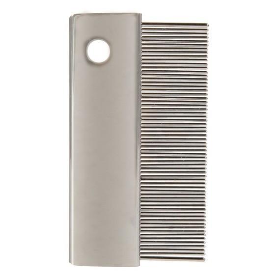 Higiena, pielęgnacja sierści - Trixie Grzebień Gęsty metal  6,5cm