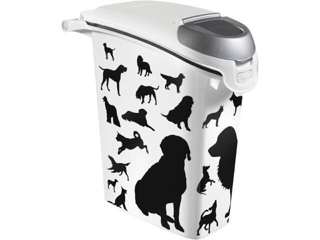Akcesoria do karmienia - Curver Pet Life Pojemnik na psią karmę lub żwirek 6kg