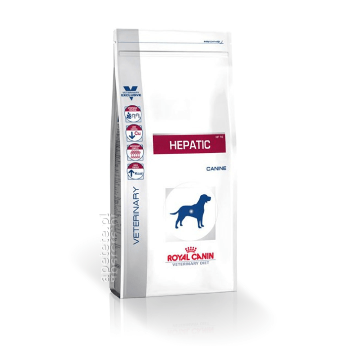 Karmy suche dla psa - Royal Canin Veterinary Diet Canine Hepatic HF16