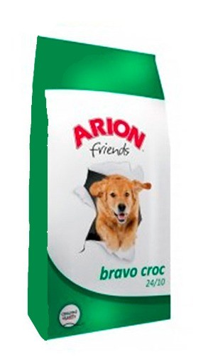 Karmy suche dla psa - Arion Friends Adult Bravo Croc 15kg