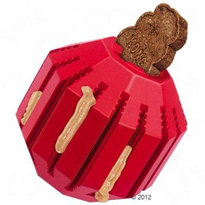 Zabawki - Kong Stuff Piłka na smakołyki XL