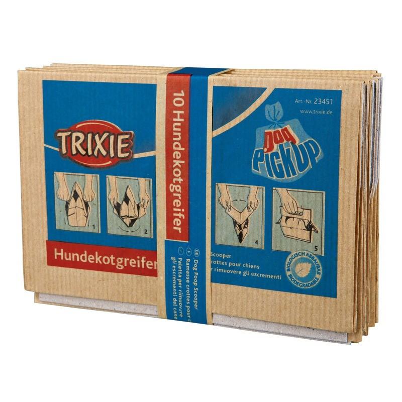 Produkty higieniczne - Trixie Worki Papierowe na odchody 10szt.