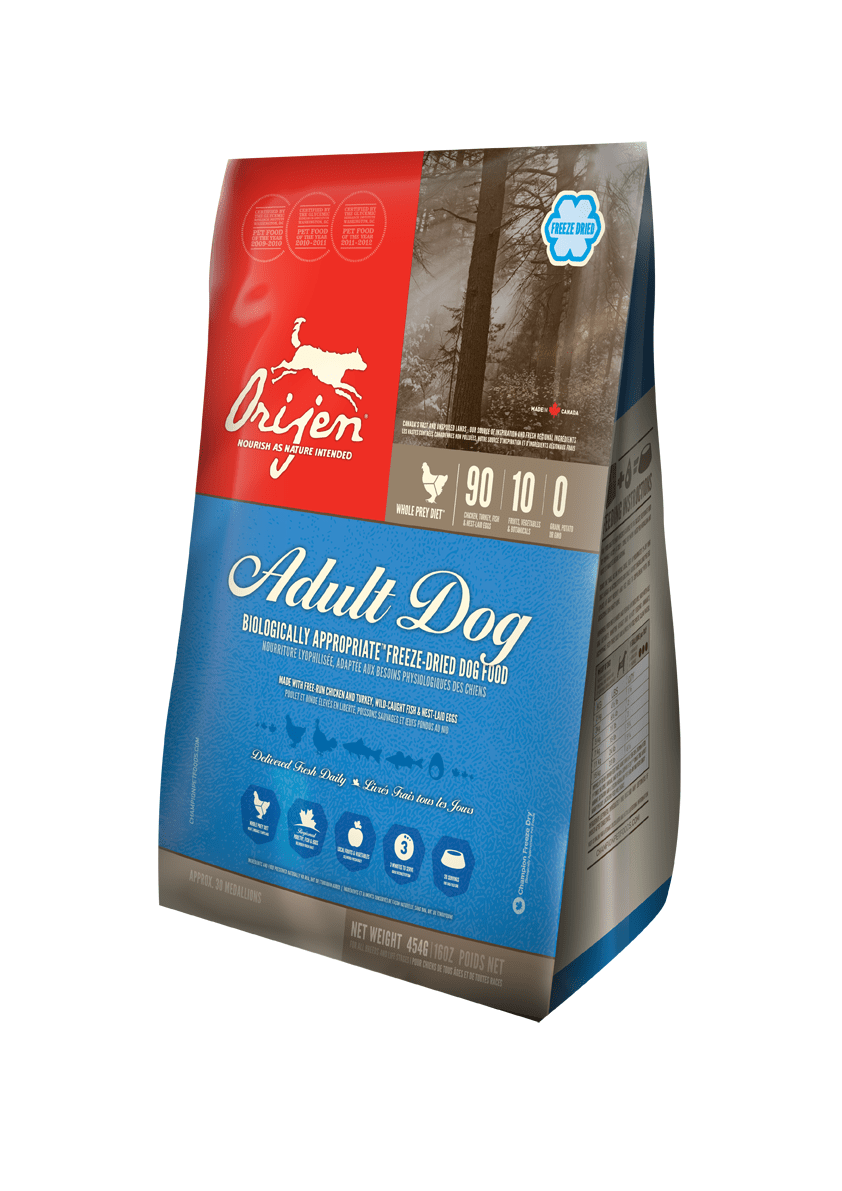 Karmy suche dla psa - Orijen Adult Dog Freeze Dried