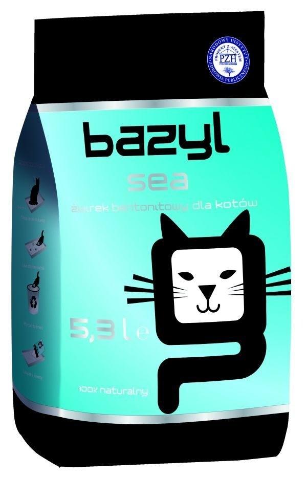 żwirek dla kota - Żwirek Bazyl Sea 5,3l
