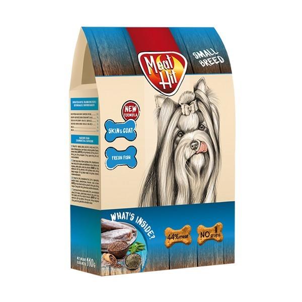 Przysmaki dla psa - Meat Hit Skin & Coat ryba 110g
