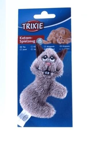 Zabawki - Trixie Chomik pluszowy z kocimiętką 10cm