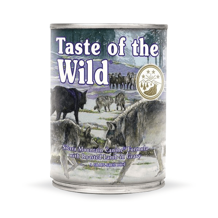Karmy mokre dla psa - Taste of the Wild Sierra Mountain Canine 390g