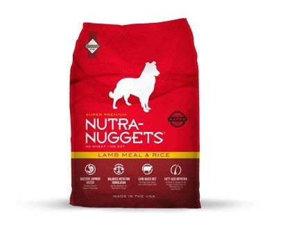Karmy suche dla psa - Nutra Nuggets Adult Lamb Meal & Rice