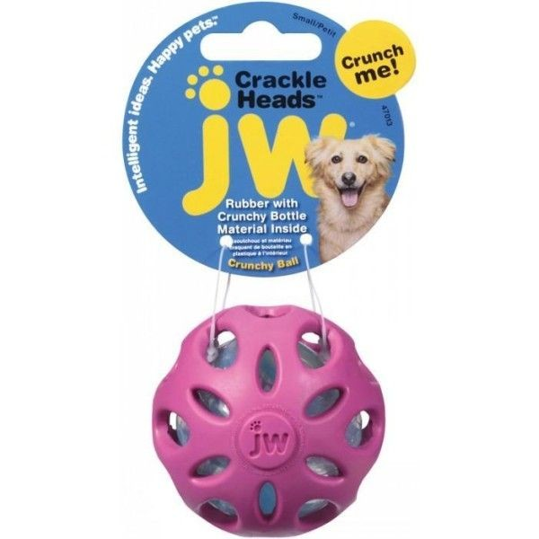 Zabawki - JW Pet Crackle Ball Small