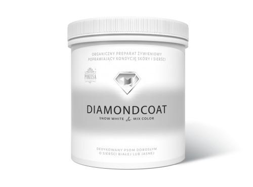 Suplementy - Pokusa DiamondCoat SnowWhite & MixColor słoik 180g