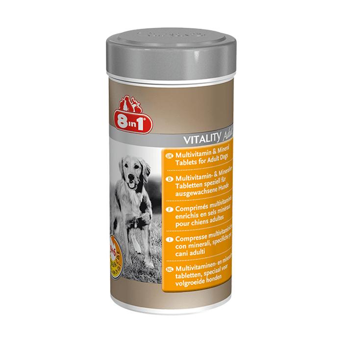 Suplementy - 8in1 Witaminy dla dorosłych psów 70 tabl.