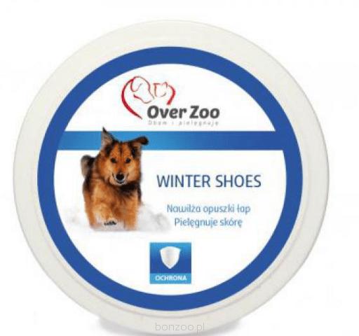 Higiena, pielęgnacja łap i pazurów - Over Zoo Balsam do łap zimowy 50g