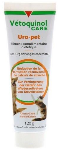 Suplementy - Vetoquinol Uro-Pet pasta na drogi moczowe 120g