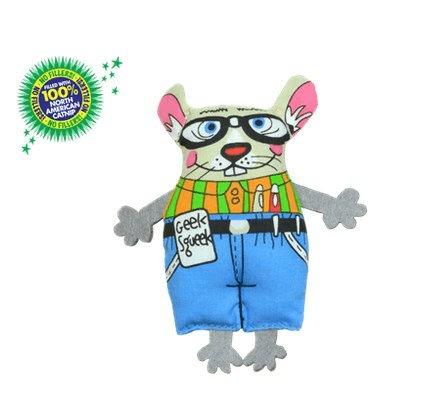 Zabawki - Petstages Pluszowa mysz z kocimiętką