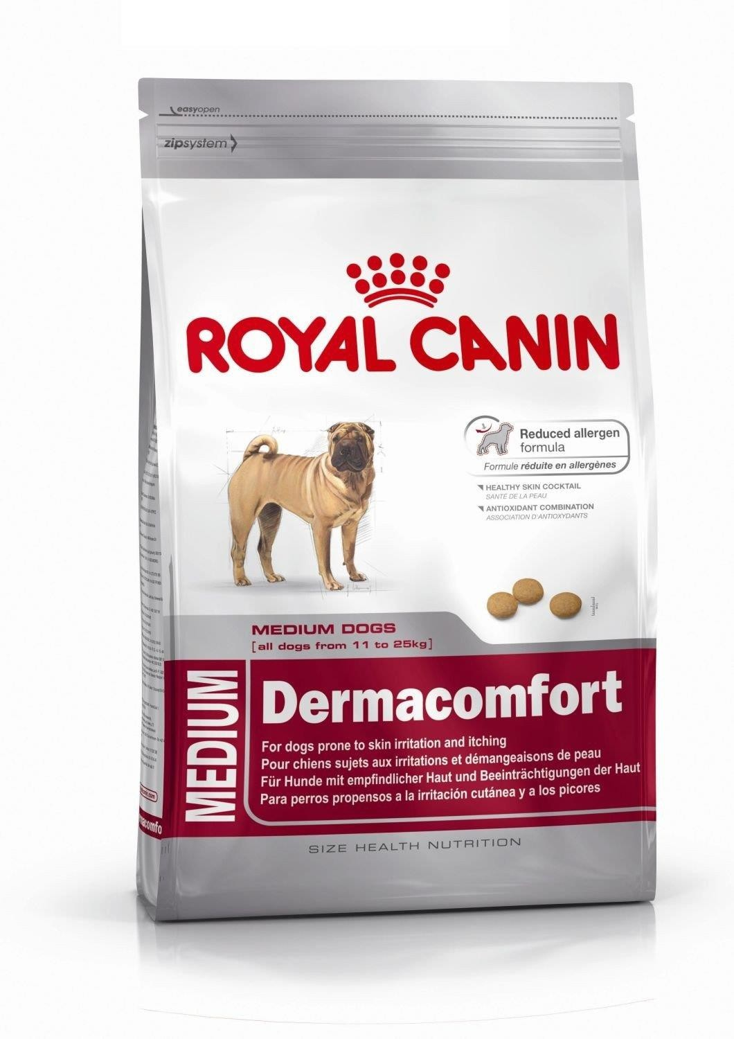 Karmy suche dla psa - Royal Canin Medium Dermacomfort CCN