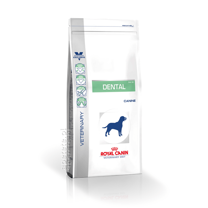 Karmy suche dla psa - Royal Canin Veterinary Diet Canine Dental DLK22