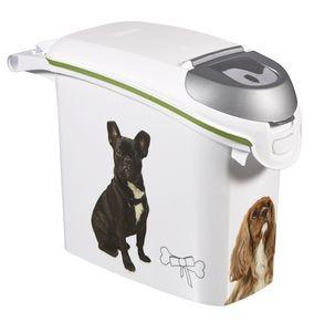 Akcesoria do karmienia - Curver Pet Life Pojemnik na psią karmę 15l