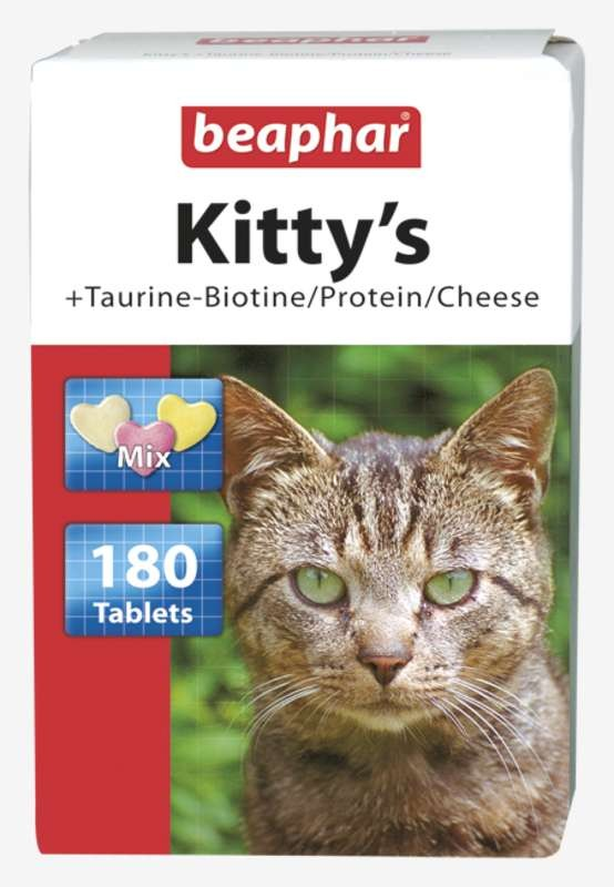 Suplementy - Beaphar Kittys Mix Multivitaminy 180 tabl.