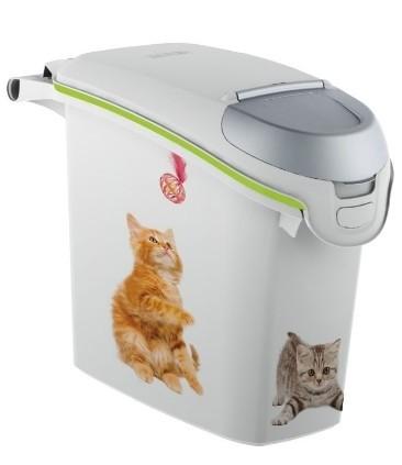 Akcesoria do karmienia - Curver Pet Life Pojemnik na kocią karmę lub żwirek 6kg