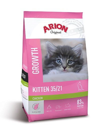 Karmy suche dla kota - Arion Original Kitten Chicken